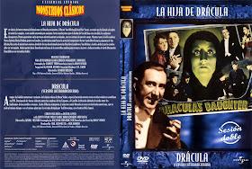 Carátula DVD de La hija de Drácula