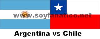 Argentina vs Chile Eliminatorias 2016