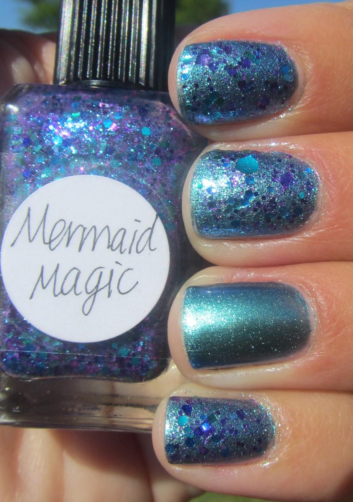 My Nail Polish Obsession Chanel Azure Amp Lynnderella Mermaid Magic