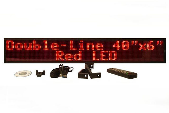 Generally use capital letters for your text | Affordable LED