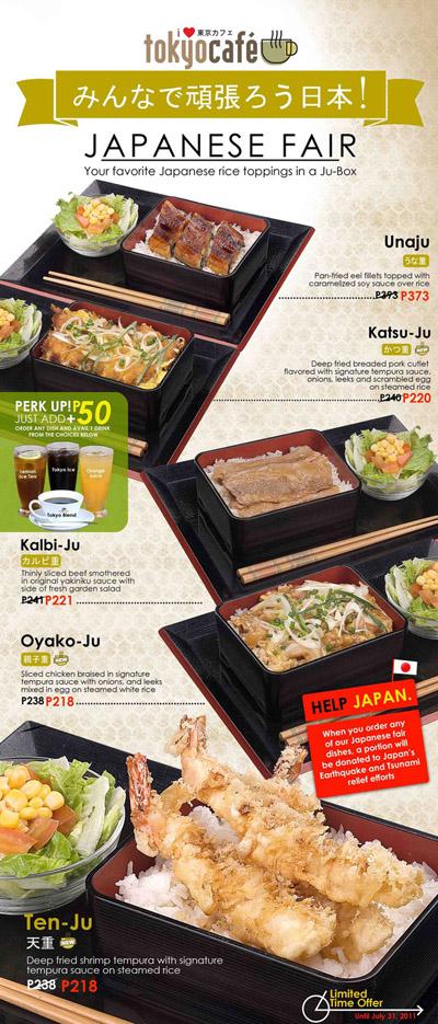 Promo+2 - Westernized Japanese Restaurant - Tokyo Cafe