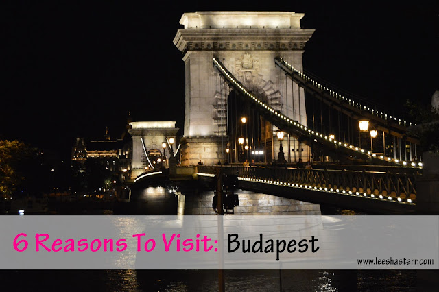 Chain Bridge Budapest, 6 Reasons To Visit, Night Time