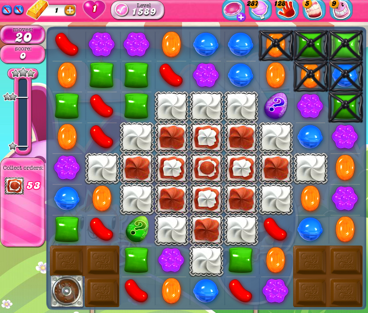 Candy Crush Saga 1589