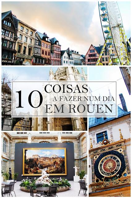 Drawing Dreaming - 10 coisas a fazer num dia em Rouen