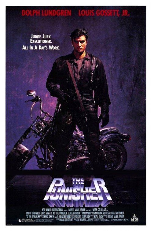 Film Reviews from the Cosmic Catacombs: The Punisher (1989 ...