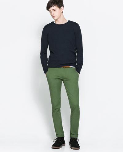 Yeşil renk pantolonla ne giyilir