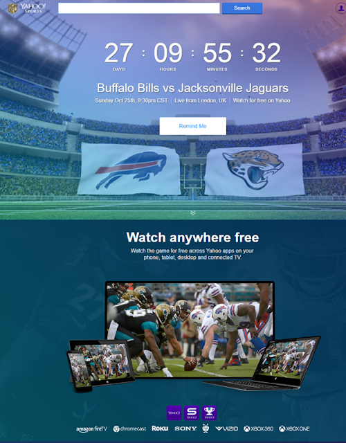 free NFL global livestreaming