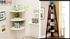 Wall Mount Corner Shelves Ideas and Tips