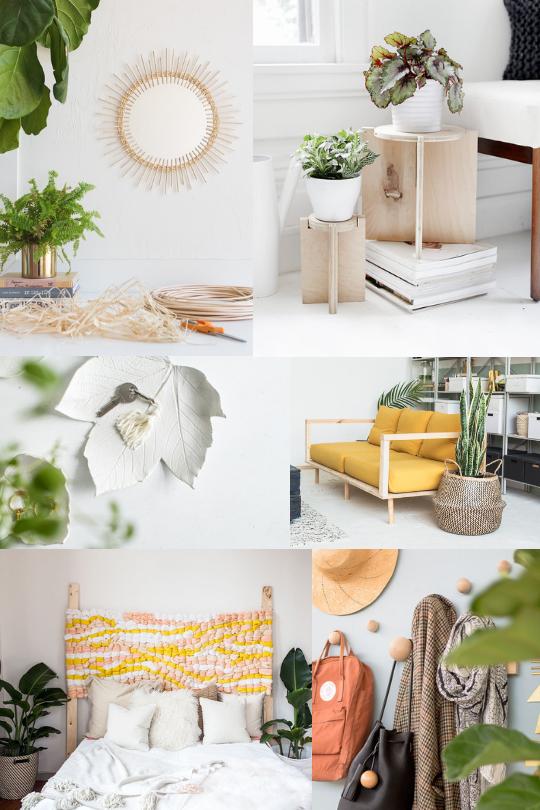 proyectos de decoración DIY