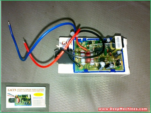 Cara Memasang Power Switching Gacun pada Perangkat Televisi