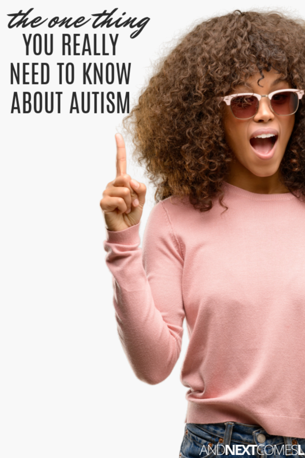 The one thing you really need to know about autism