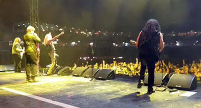 Twisted Sister on stage as a group for the very last time in the Tri-state area... October 1, 2016 Lakewood, New Jersey