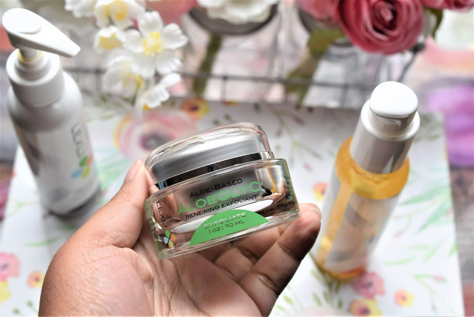 Lexli AloeGlyC Glycolic Acid Face Exfoliator