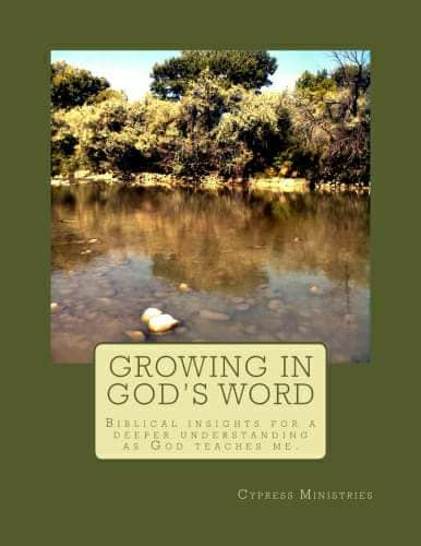 Growing in God's Word