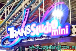 Lowongan Kerja Padang: Trans Studio Mini Februari 2018