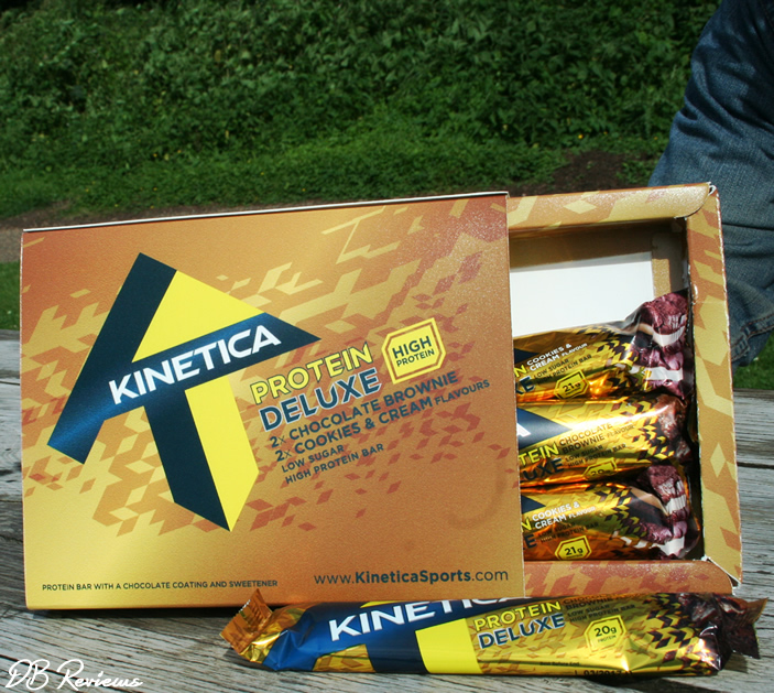 Kinetica Protein Deluxe Bars
