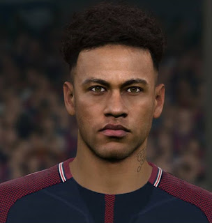 PES 2017 Faces Neymar Jr by Sameh Momen