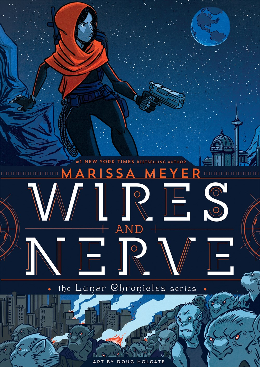 Cover Revealed Wires And Nerve By Marissa Meyer