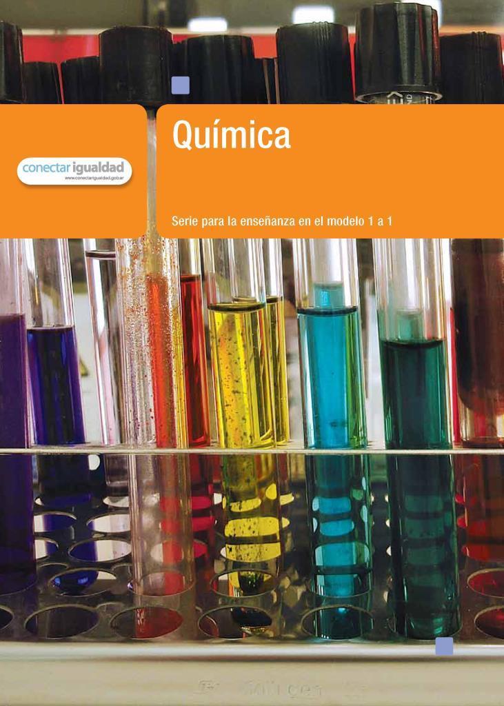 Química: Serie para la enseñanza en el modelo 1 a 1