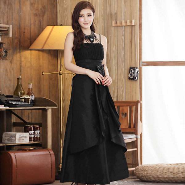 Tampil Cantik Dengan Model Baju Long Dress Pesta