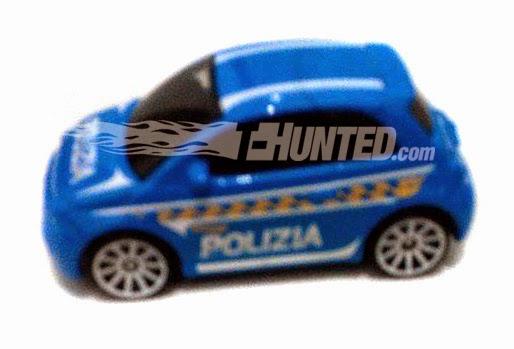 Fiat 500 Polizia Hot Wheels Club Za