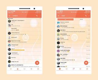 BBM MOD CandyLight Versi Terbaru v3.3.2.31 APK