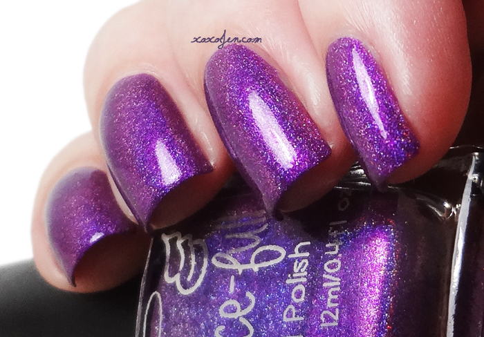 xoxoJen's swatch of Grace-full Dark Orchid