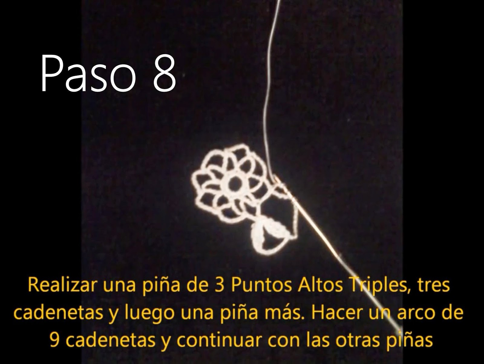 Tapete Flor Paso 8