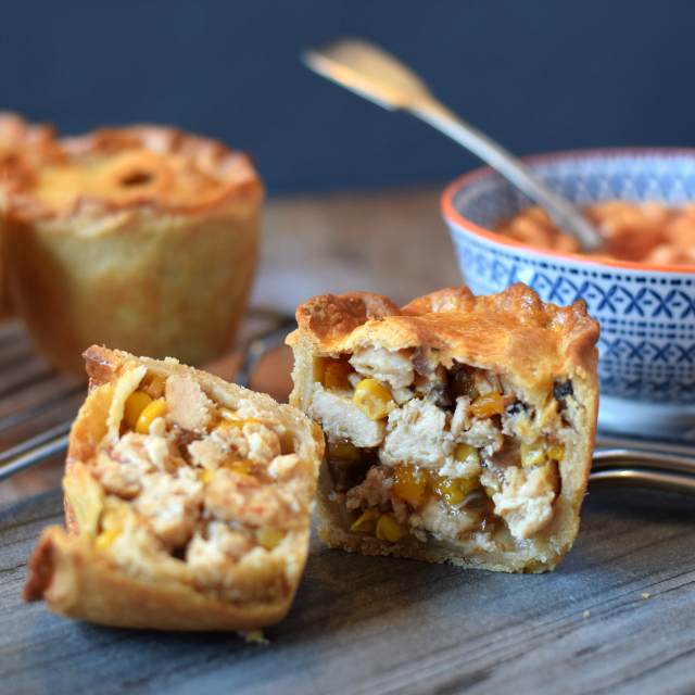 Vegetarian Pork Pie recipe