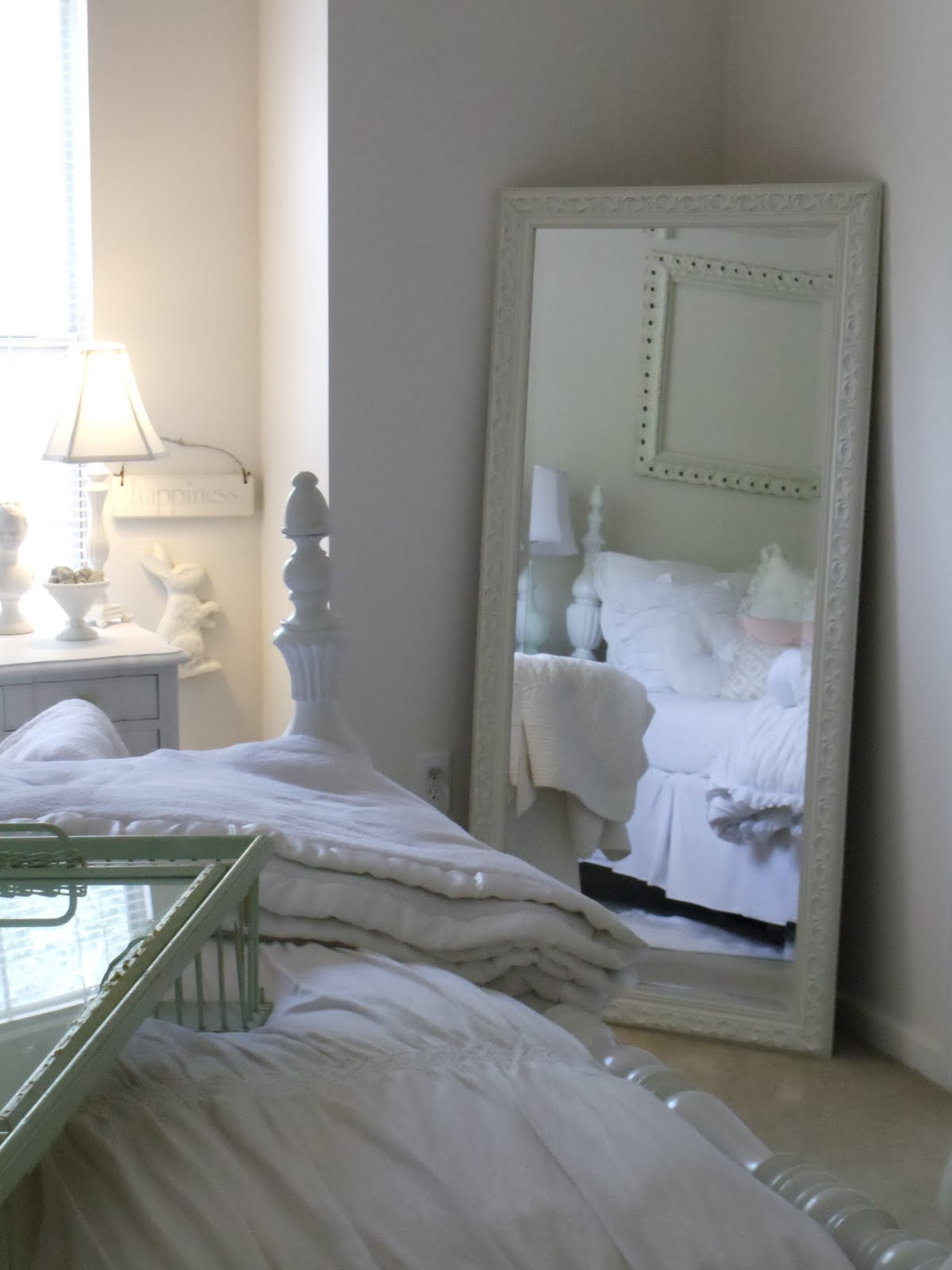 a classic pearl mirror mirror on the wall. Black Bedroom Furniture Sets. Home Design Ideas