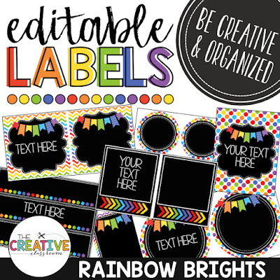 Use these printable classroom labels for your classroom organization needs. These free and editable labels are perfect for any grade level and are great for classroom decor.