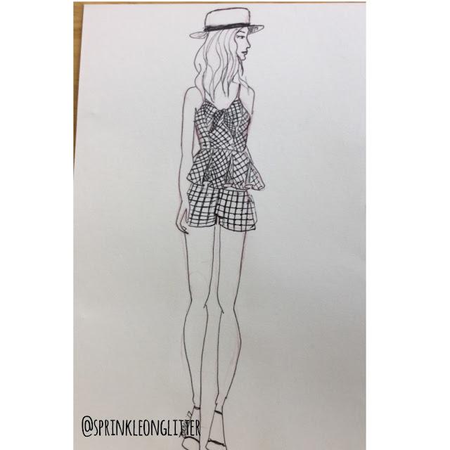 Sprinkle on Glitter Blog// 3 ways to wear gingham//romper