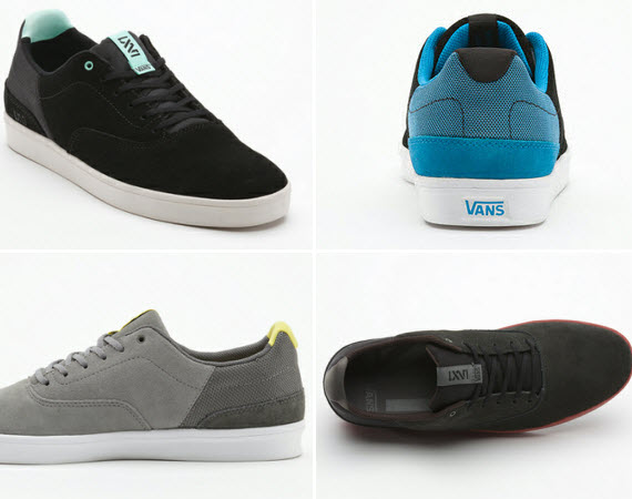 Laidback In Lowtops Vans Lxvi Variable Sneakers Shoeography