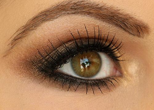 Smokey Brown Eyeshadow Tutorial