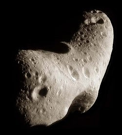What does 433 Eros Asteroid look like close up.