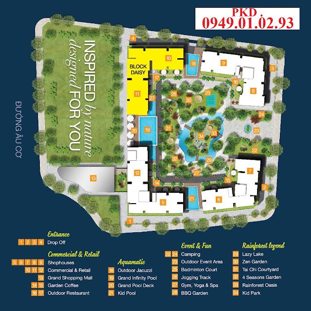 Tiện ích dự án Centa Park Tân Bình