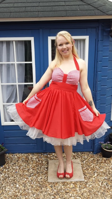 The Vintage Pattern Files: 1940s Free Sewing Pattern -  'The Notebook' Inspired Dress