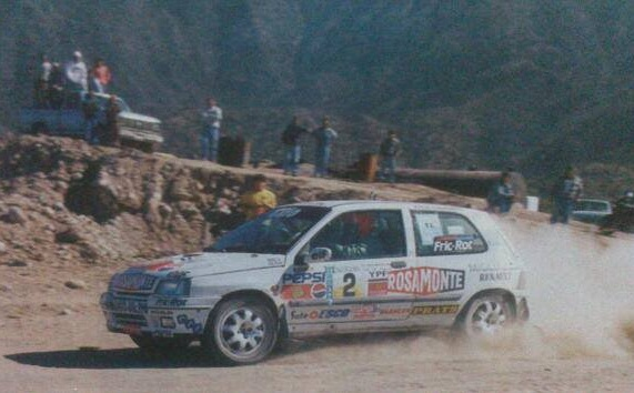Renault Clio Williams Rally Gabriel Raies preparado por Berta