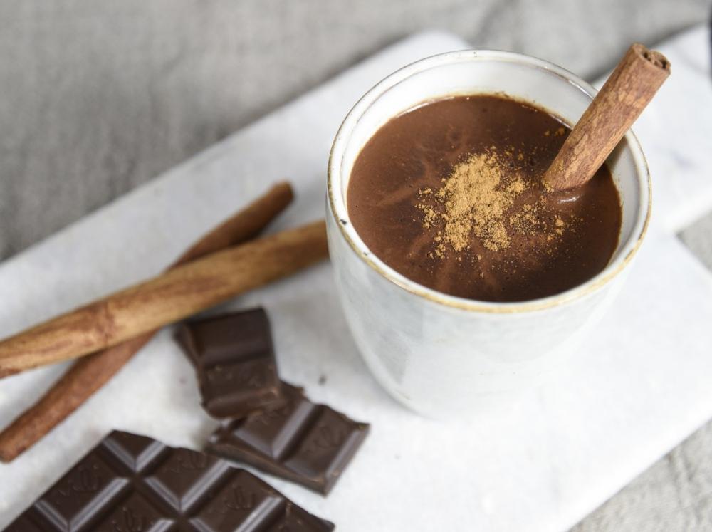Superfood zum Trinken: 3 heiße Schokoladen für die Weihnachtszeit - Spekulatius-Schokolade