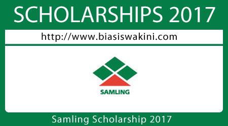 Samling Scholarship 2017