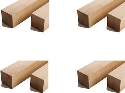 gỗ sồi ghép khối vuông