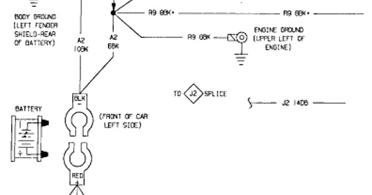 1987 Dodge Shadow Charging System Wiring Diagram | All