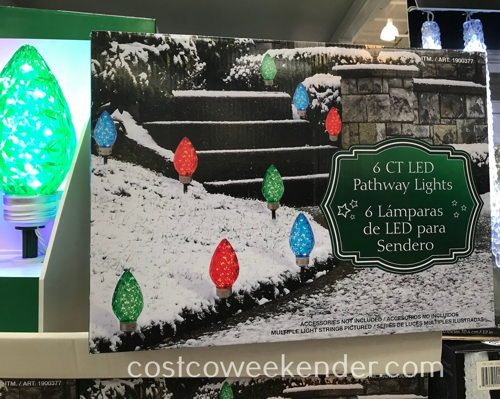 Costco 1900377 - LED Pathway Lights will help guests find their way to your front door