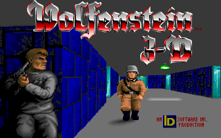 Wolfenstein 3D title screen