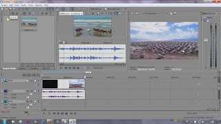 Pengenalan fungsi dasar Pada Software video editing Sony Vegas 10