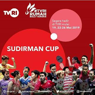 piala sudirman 2019 live tvri