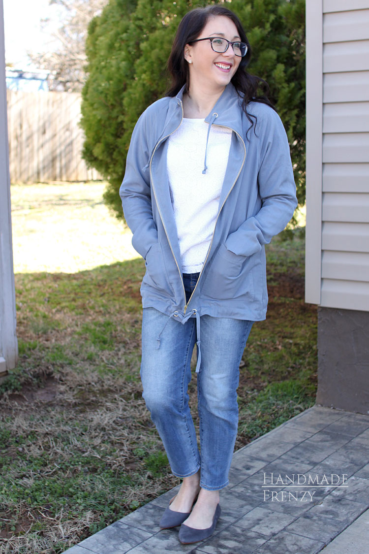 Joy Jacket Pattern // Sewing For Women