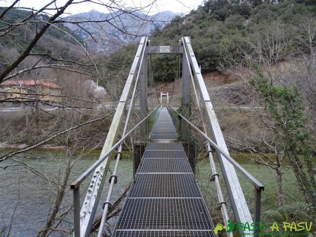 Ruta a la Pica de Peñamellera: Puente de la Molinuca