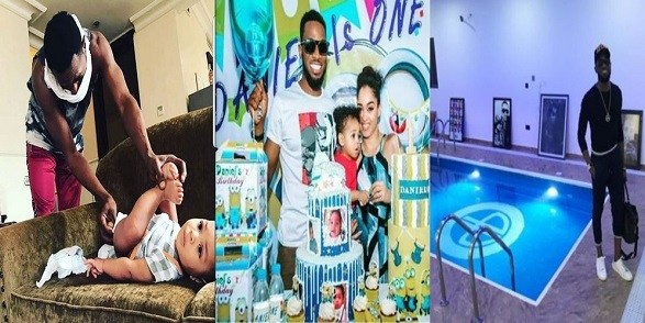 Dbanj's wife reportedly placed on suicide watch after son's death