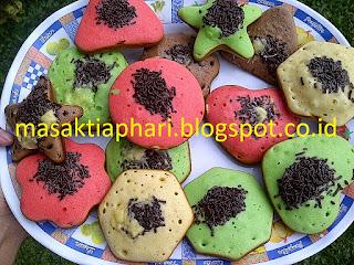 resep kue cubit rainbow